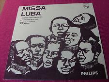 Les Troubadours du roi Baudouin - Missa Luba      Philips   BL 7592   LP  EX+