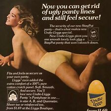 L'eggs Undie Leggs Panty Pantyhose Vintage Original Magazine Print Ad 1978