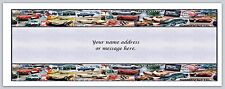 Personalized Address labels Antique Cars border Buy 3 Get 1 free (bo 494)