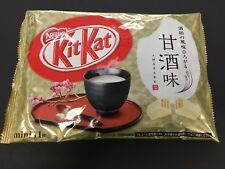 Nestle Kit Kat AMAZAKE Sake KitKat Mini 11 Pieces MADE IN JAPAN