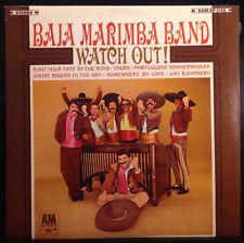 Baja Marimba Band - Watch Out! - EX Vinyl LP