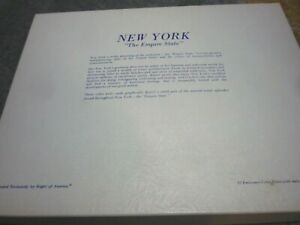 Vintage New York Empire State Note Cards set in box Central Park Adirondacks etc