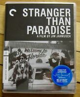Stranger Than Paradise Blu-ray Criterion April 2019, J Jarmusch 1984 film