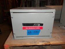 Rex 15kva Transformer 3 Phase 600v-480v Delta 480v-380v 12kva