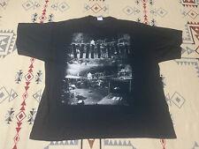 NIRVANA T Shirt Black Grunge Rock Music Men's 2XL Kurt Cobain 2009 Concert A5