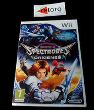 SPECTROBES ORIGENES Nintendo WII PAL Español NUEVO Precintado Disney