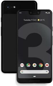 Unlocked Google Pixel 3 XL 64GB Smartphone - Black (Pink Screen) (IL/SP5-7409...