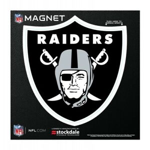 """OAKLAND RAIDERS 6""""X6"""" DIE-CUT MAGNET FOR INDOOR OR OUTDOOR USE HIGH QUALITY"""