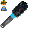 Wet And Dry Paddle Shower Hair Brush Scalp Massage Cushion Detangling Pro Black
