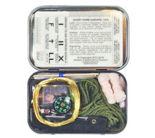Mini Survival Kit in Tin Esee Knives Sere Tools in Pocket-sized Container