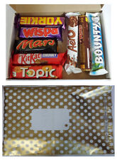 8 x Chocolate Bars Present Chocolate Gift Selection Box Hamper,Cadbury Nestle