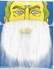 Black Fake Beard for Fancy Dress Party Witch Wizard Smurf Santa UK 5be9ad4892