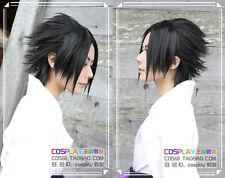 New Uchiha Sasuke Short Black Straight Cosplay Wig