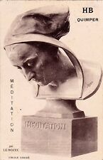 QUIMPER méditation par LE BOZEC sculpteur