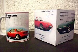 MAZDA MX-5  MUG in limited  =edition GIFT BOX NEW- BOXED