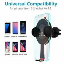 HOCO 10W Wireless Car Fast Charging holder ForSamsung S8/S7/S9 note5/8,HtcM8 Eye