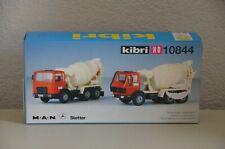 Kibri 10844 2 Betonmischer MB und MAN Bausatz im Maßstab HO/1:87