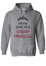 I'm 99% Sure Disney Princess Hoodie Sweatshirt Jumper Men Women Unisex 2284
