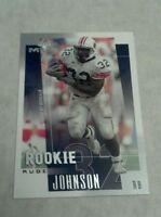 RUDI JOHNSON 2001 UPPER DECK MVP ROOKIE CARD RC A4709