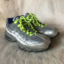 Rare 2000 Nike 255 iD Try-on Gray Rare Air Max 95 314350 992 BBS Pairs OG Neon