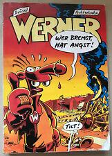 Comic WERNER Wer bremst, hat Angst! Brösel Comic 1. Auflage 1994 Achterbahn (8)