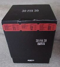 ESPN Films 30 for 30 Collection (DVD 2011 12-Disc Set Limited Edition & Hat)