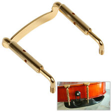 Golden Metal Chin Rest Screw Fixing Frame Holder for 4/4 Size Acoustic Violin