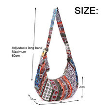 Ethnic Shoulder Bag Hippie Tassel Hmong Vintage Tote Messenger Embroidery Boho