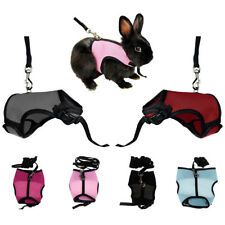 Nylon Mesh Hamster Rabbit Harness Leash Set Small Pet Cat Guinea Pig Walk Lead