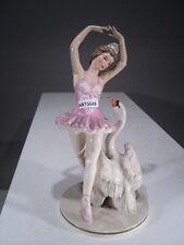 +# A013545 Goebel Archivmuster FZ47 tanzende Ballerina mit Schwan, TMK4