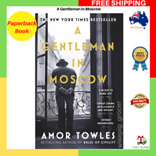 BRAND NEW A Gentleman In Moscow By Amor Towles Paperback Book FREE SHIPPING AU