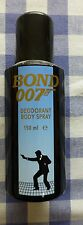 Bond 007 - Deodorant Body Spray - Early 1990's. Empty, can in lovely condition