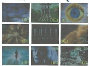 The Outer Limits Opening Monologue Chase Card Set In Max Protection Sleeve G+