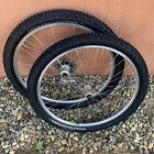 Vintage Mavic X221 wheels with Shimano XT HB-M750 hubs wheelset 26'' 9 Speed