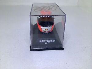 "Minichamps 1:8 Arai Helmet Johnny Herbert 1997 ""SIGNED"" 381 970016"