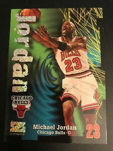1997-98 SKYBOX Z-FORCE MICHAEL JORDAN 23 CHICAGO BULLS RAVE 242/399 SUPER INSERT
