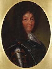 Dopo aver Hyacinthe Rigaud 17thC Belle pittura a olio ritratto Luigi XIV (Re Sole)