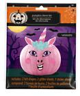 New Halloween Pumpkin Decorating Kit Felt ~ Unicorn