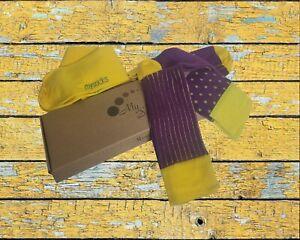 Mysocks 3 Pairs Multi Design Combination Socks