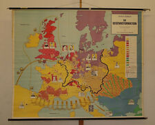 Scheda Muro Europa dopo Luther guerra 30j 1648 204x167 ~ 1960 Counter-Reformation Map