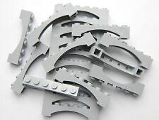 Lego Arche 1x6 x20 pièces # Light Gris Pierre # Pont Fenêtre Mur Château