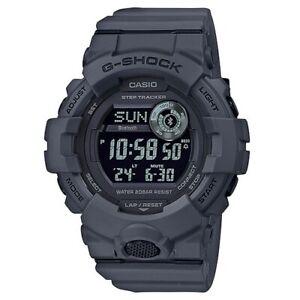 Casio G-Shock Digital Grey Utility Bluetooth Step Tracker Mens Watch GBD800UC-8