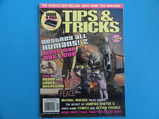 TIPS & TRICKS MAGAZINE NOV 2006 #141- DEYSTROY ALL HUMANS! 2 + MORE CHEAT CODES