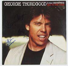 George Thorogood Bad to The Bone Signed Autograph Record Album JSA Vinyl