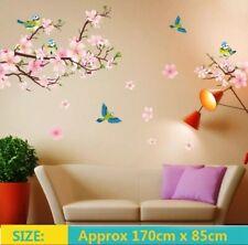 Wall Decal Plum Blossom Flower Bird Sticker Art Mural Home Removable Decor USA