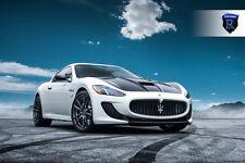 20x9 20x11 +28 Rohana RF2 5x114 Black Rims Fit Maserati Gran Turismo Mc Stradale
