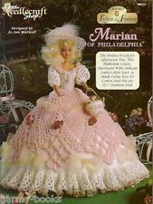 Marian of Philadelphia Ladies of Fashion Crochet Pattern for Barbie Dolls NEW