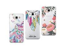 Samsung J5 2016 (J 510) - Pack de 3 coques souples et résistantes avec motifs
