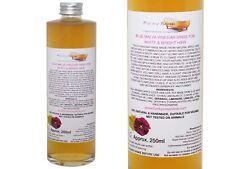 Vinaigre Rinçage pour Blanc / Brillant Cheveux,Verre Bouteille de 250ml,100%