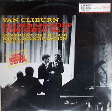 LP Van Cliburn Rachmaninoff Concerto No.3 -RCA Victor Red Seal LSC-2355,MINT-